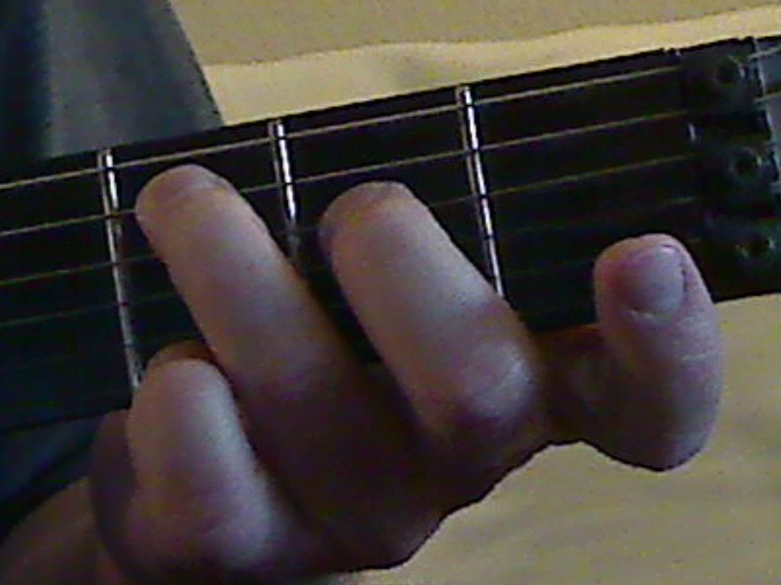 Open position chords purple tiger guitar nice and simple just two fingers and three open strings go back and forth between the major and the m7 and hear the subtle but important difference in hexwebz Gallery