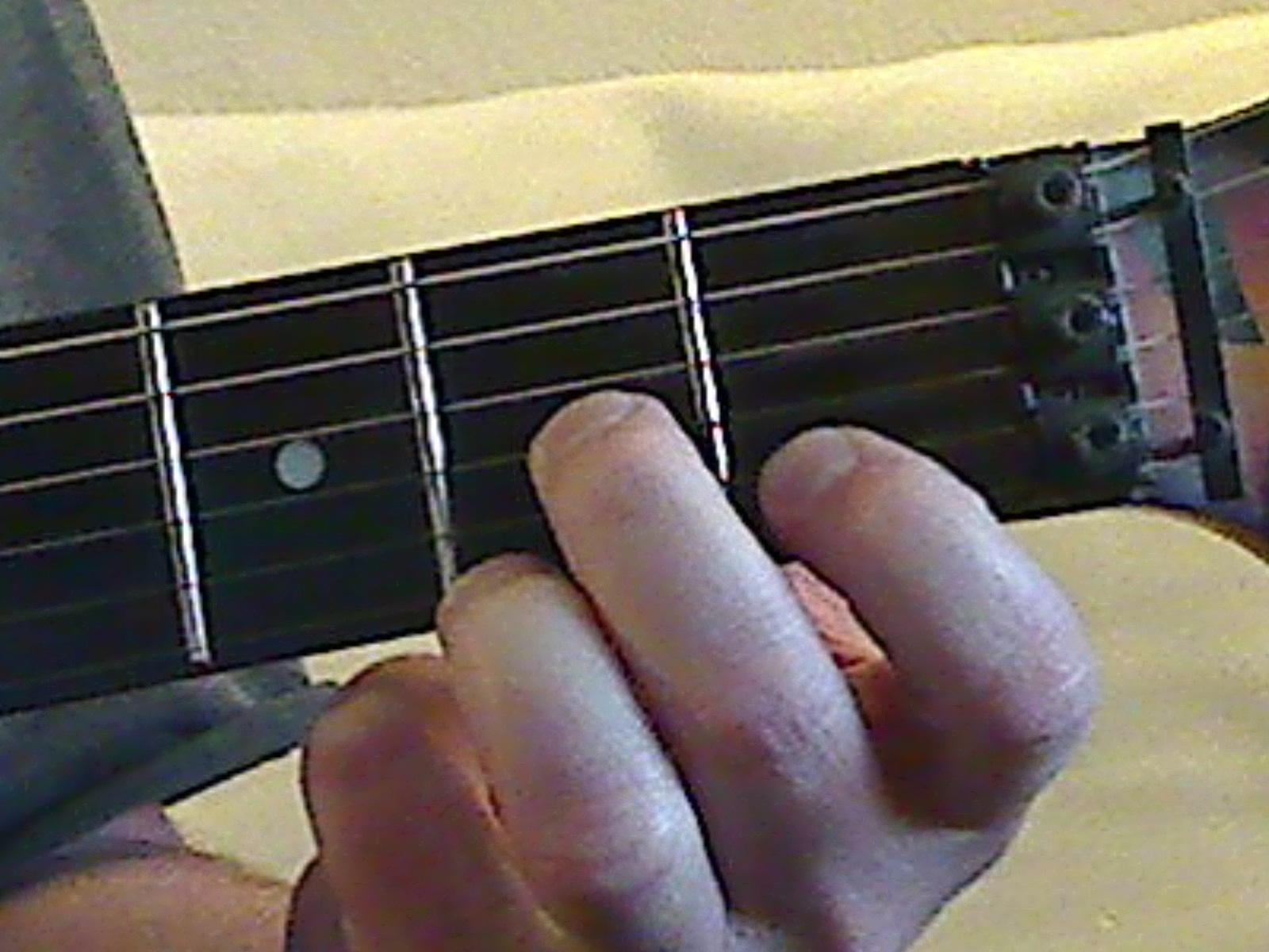 chord forms for this post   D Minor 7 Chord Guitar Finger Position